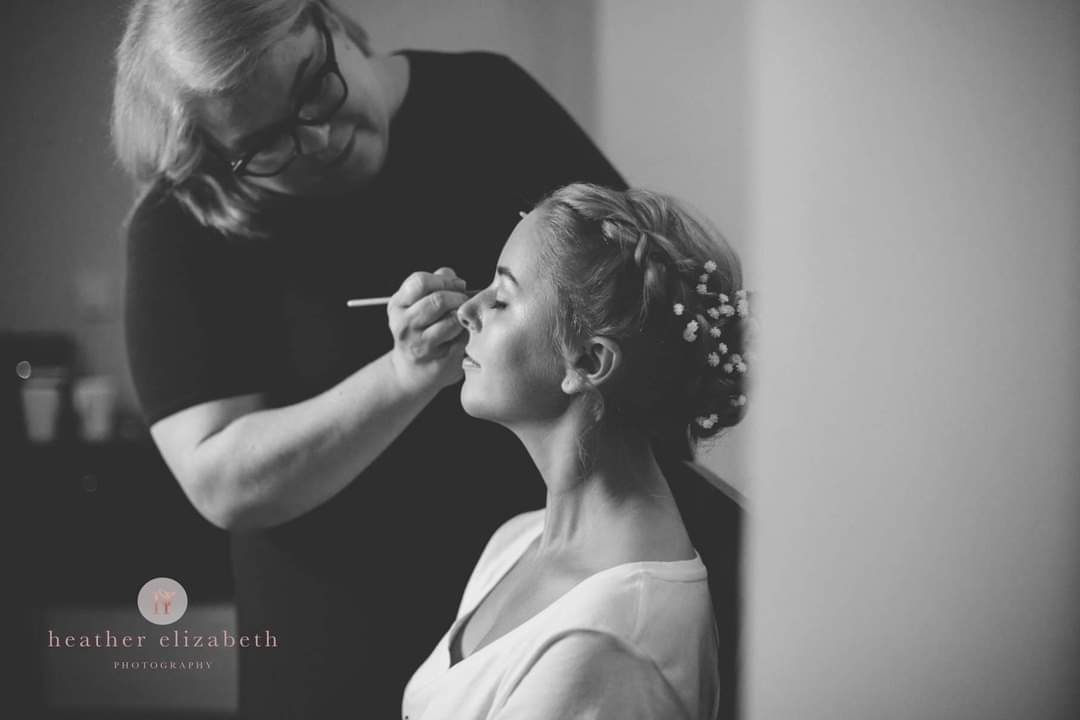 wedding hair and makeup artist Liverpool