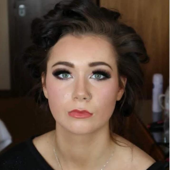Smokey eye makeup by Glamorama Liverpool