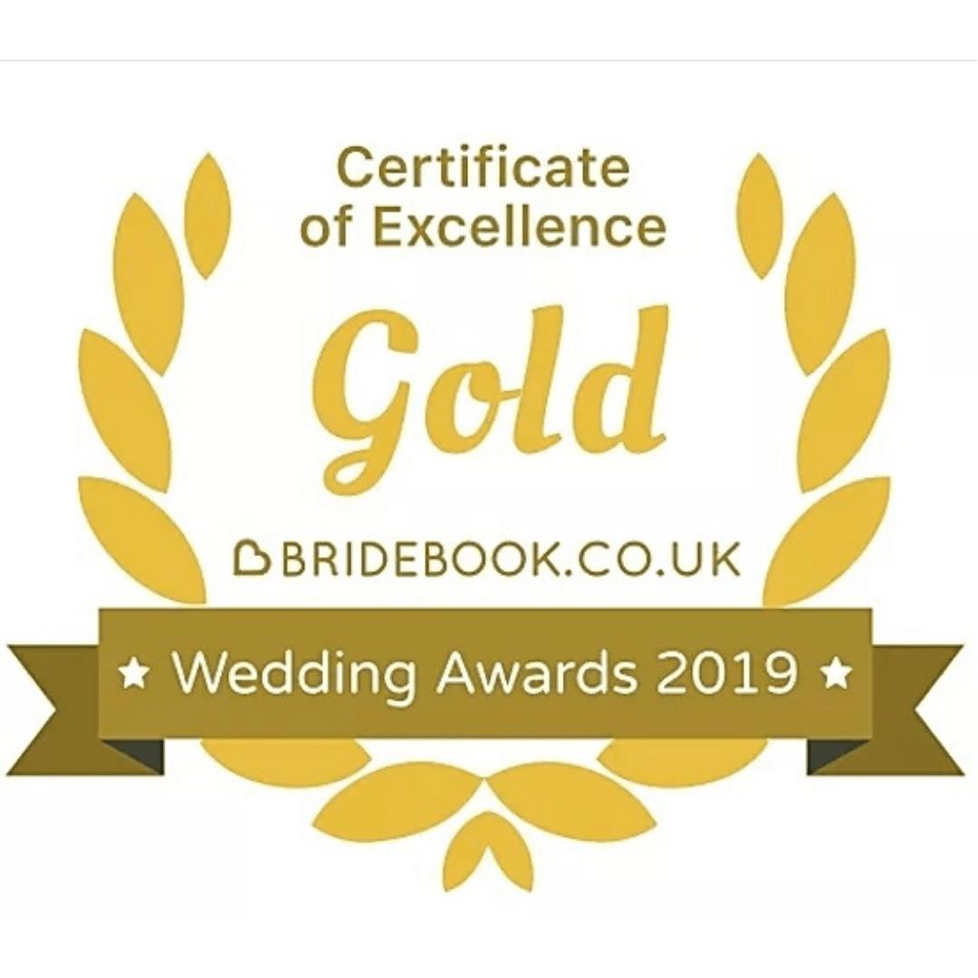 bridebook wedding award