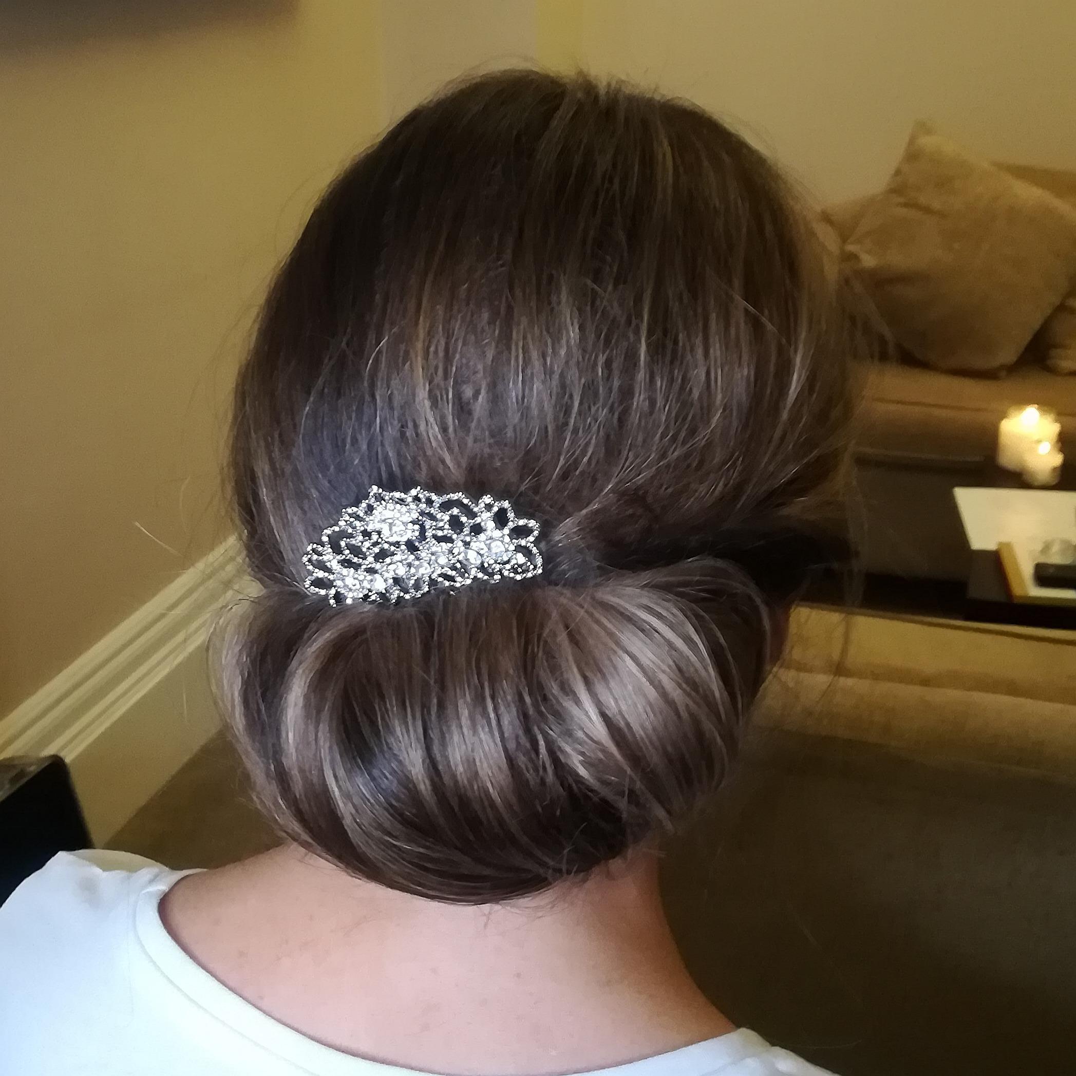 Bridesmaid Hair and Makeup at Liverpool Wedding Venue The Richmond Hotel