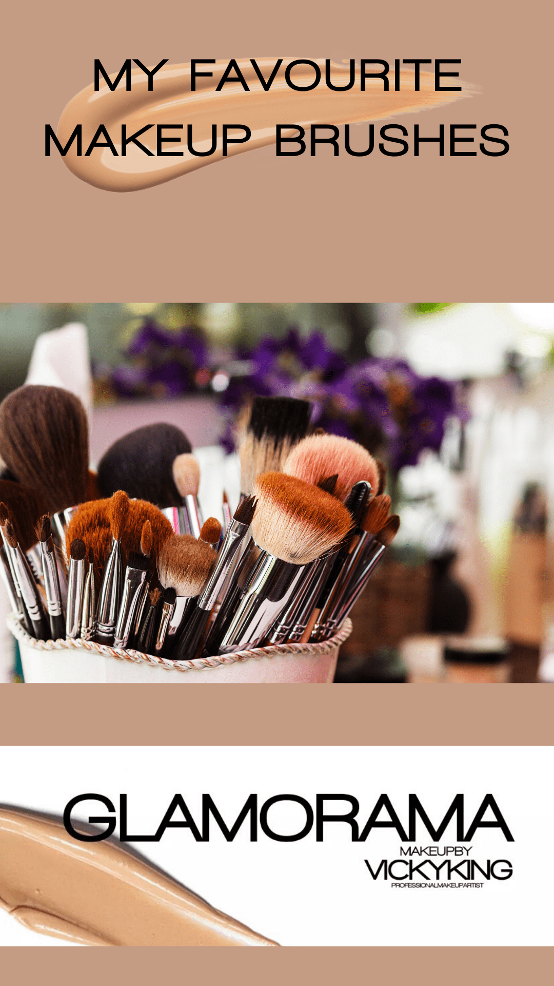 My favourite makeup brushes