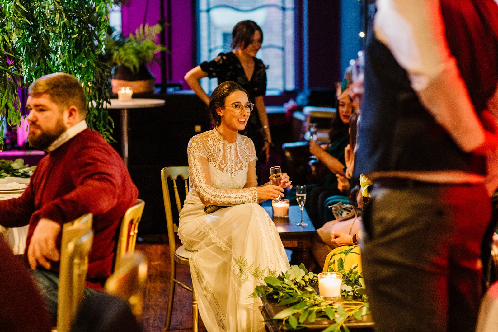 Wedding at Leaf on Bold Street in Liverpool