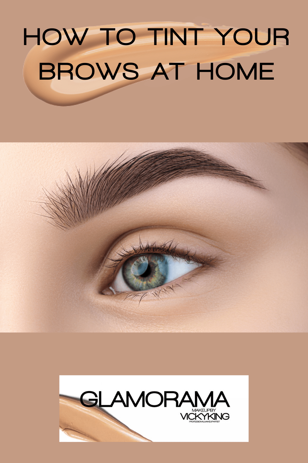 How to tint your brows at home