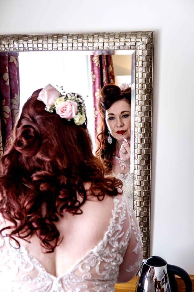 bridal hair and makeup Liverpool