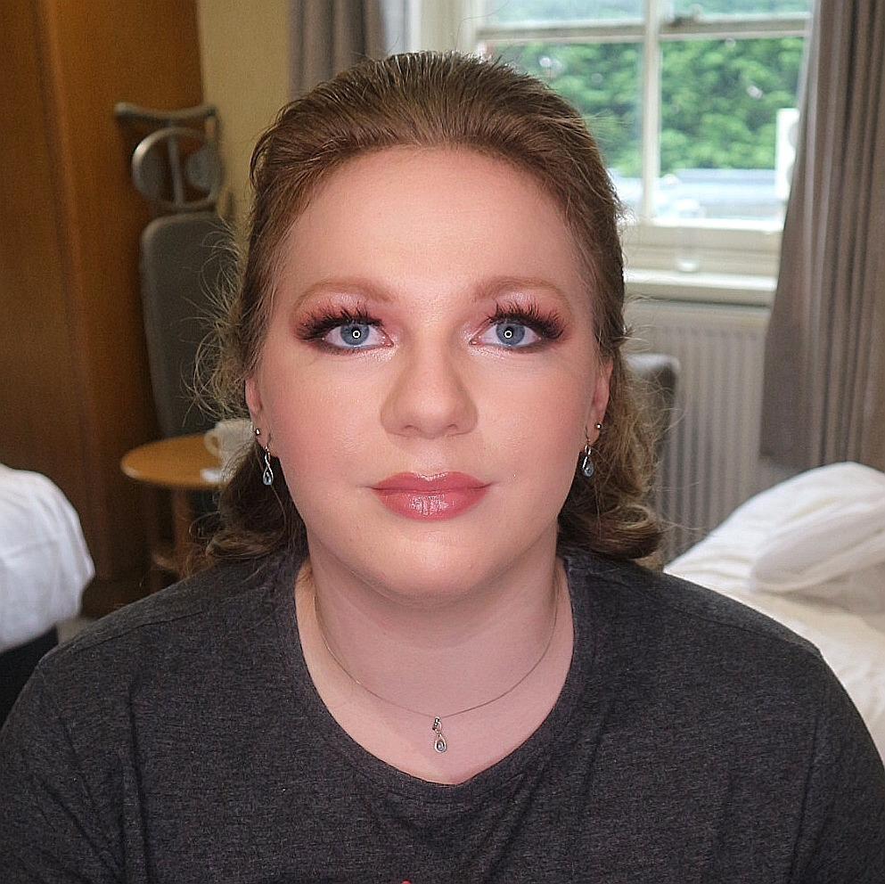 hair and makeup by Glamorama Makeup Liverpool