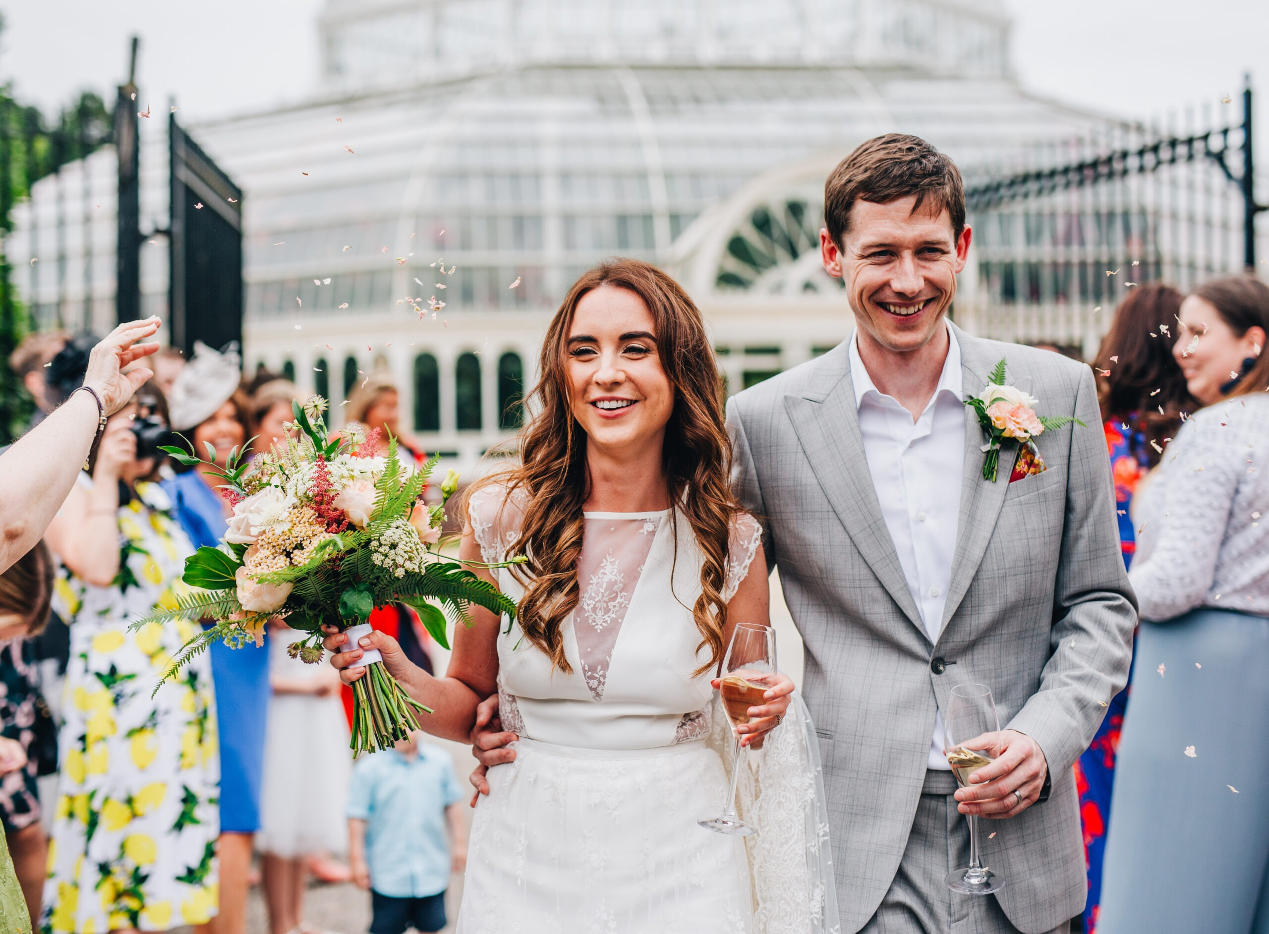 Sefton Park Palm House wedding in Liverpool