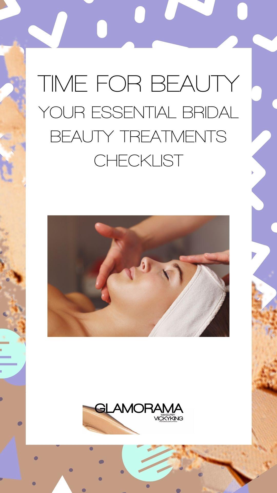 bridal beauty treatments checklist