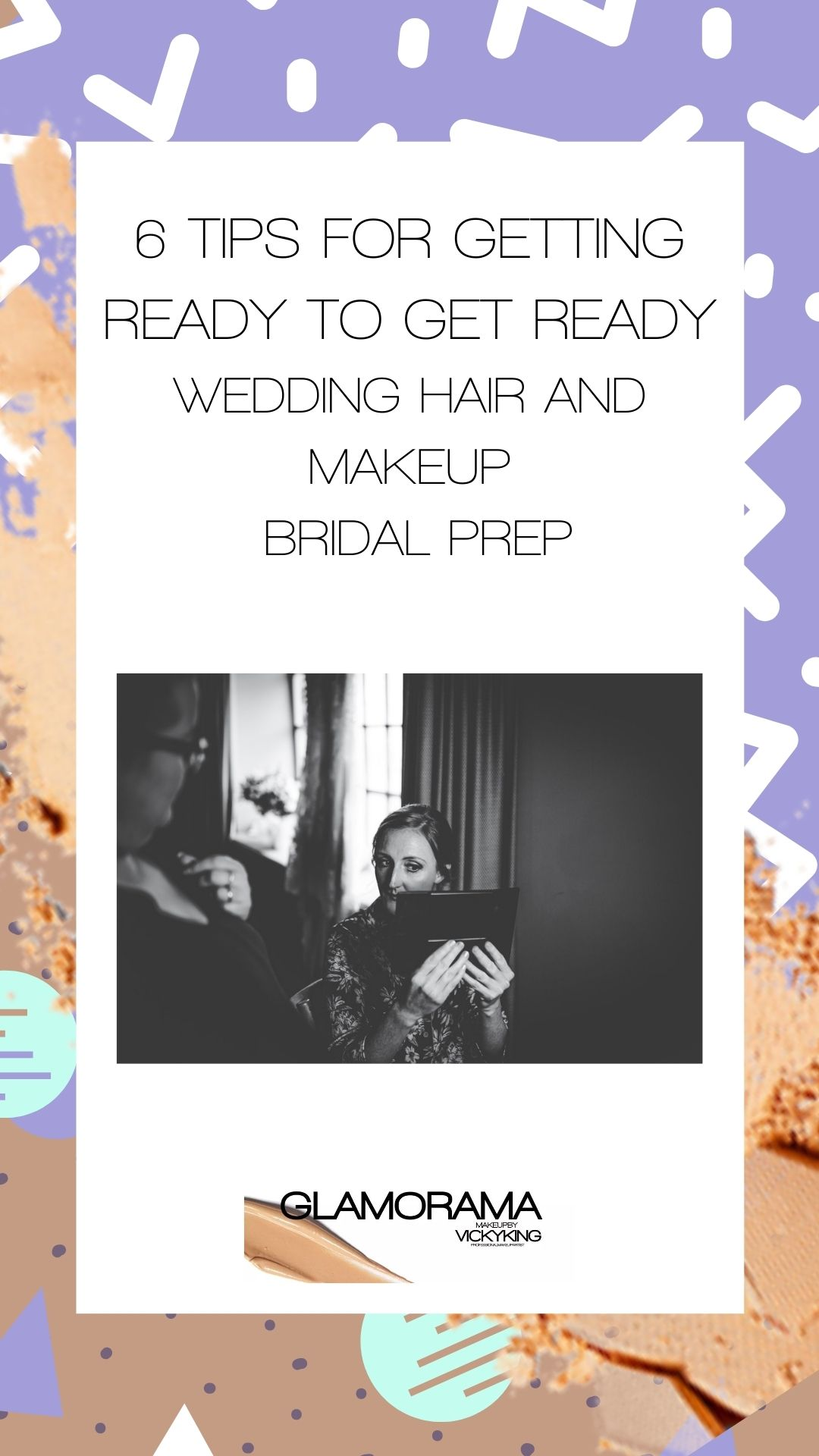 6 Tips for Getting Ready to Get Ready - Wedding Hair and Makeup - Bridal Prep  Rachel Joyce Photography