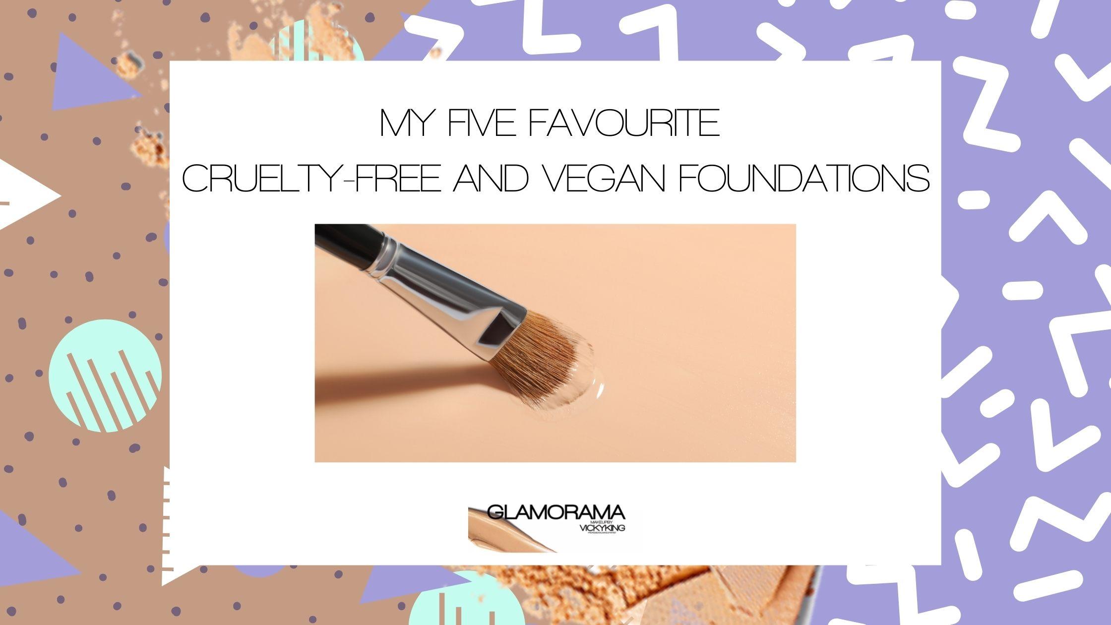 Cruelty-free and Vegan foundations
