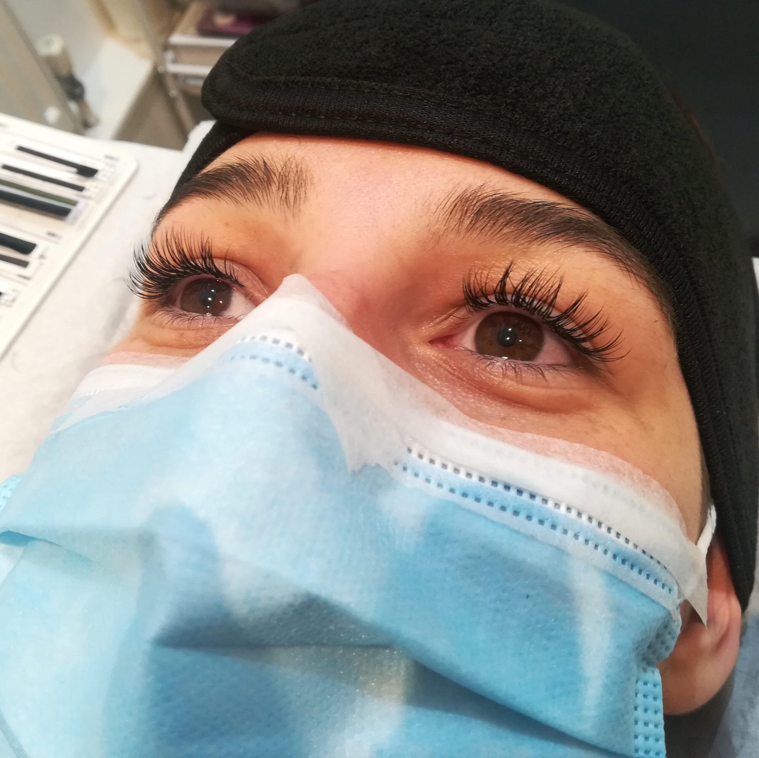 semi-permanent eyelash extensions Liverpool
